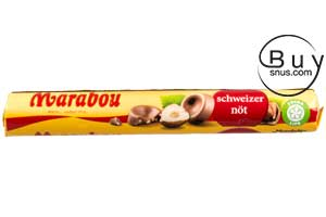 Marabou Milk Chocolate Swiss Nut Roll 67g