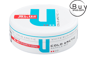 U Sample No.7 Cold Arctic Slim Chewing Bags
