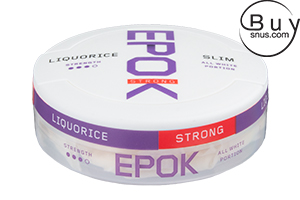 Epok Strong Licorice Slim