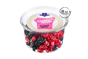 Raspberry & Salmiak Popcorn 75g