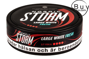 Nordic Storm Large White Fresh