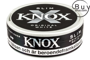 Knox Slim Original White