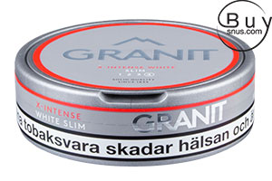 Granit X-Intense White Slim