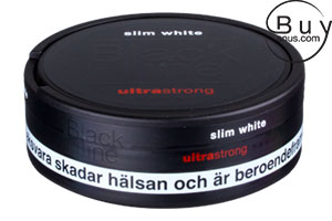 Black Line Ultra Strong Mint Slim White Portion