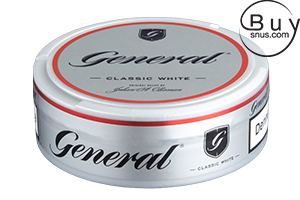 General CUT Titanium White Chew