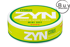 ZYN Citrus Mini Dry Extra Strong
