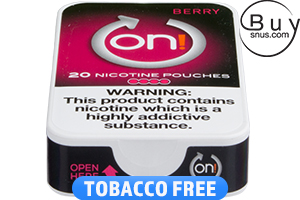 on! Berry 4 Nicotine Pouches