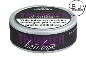 Thunder Heritage No.4 Slim White Dry