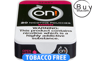 on! Berry 8 - Nicotine Pouches