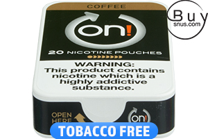 on! Coffee 8 - Nicotine Pouches