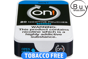 on! Mint 8 - Nicotine Pouches