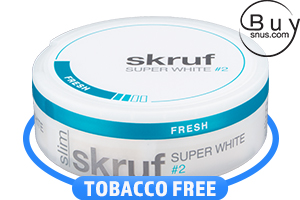 Skruf SW Slim Fresh No.2 Nicotine Pouches