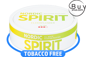 Nordic Spirit Elderflower Slim Nicotine Pouches