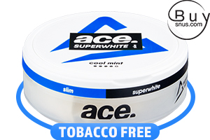 ACE Superwhite Cool Mint Slim Nicotine Pouches
