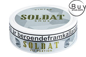 Soldat Vinter White Portion