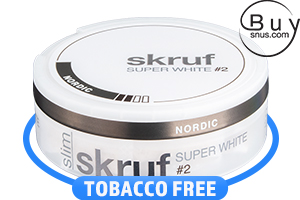 Skruf Super White Slim Nordic No.2