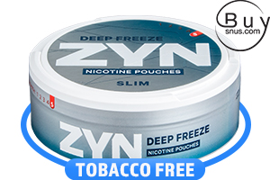 ZYN Slim Deep Freeze Super Strong Nicotine Pouches