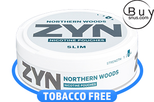 ZYN Slim Northern Woods All White