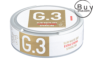 G.3 Sparkling Slim White Dry Portion