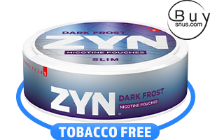 ZYN Dark Frost Slim Super Strong Nicotine Pouches