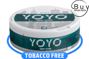 YOYO New York Mint Nicotine Pouches