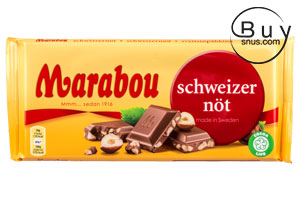 Marabou Milk Chocolate Swiss Nut 200g