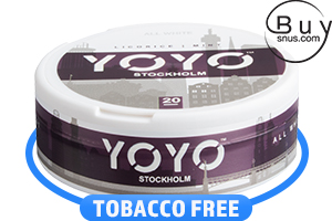 YOYO Stockholm Licorice Mint Nicotine Pouches