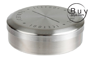 Icetool Tin Can for Loose Snus or Chew