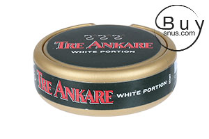 Tre Ankare Mini White Portion