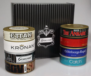 Swedish Match Tasting Kit White (8 cans)