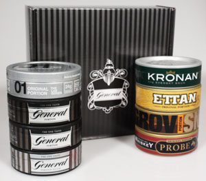 Swedish Match Tasting Kit Large (8 cans)