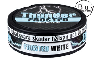 Thunder White Frosted (Extra Stark)