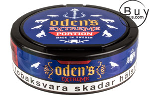 Odens Extreme Licorice Portion