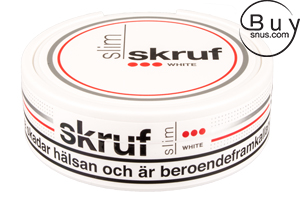 Skruf Slim White Portion (Stark)