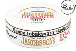 Jakobsson's Dynamite Extra Strong Portion