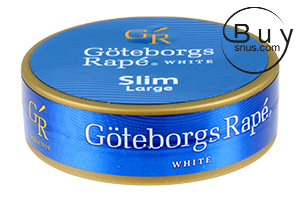 Göteborgs Rapé White SLIM Portion