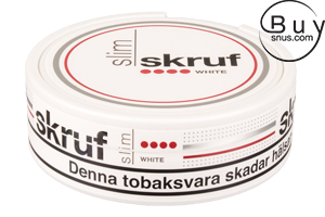 Skruf Slim White Portion (Extra Strong)