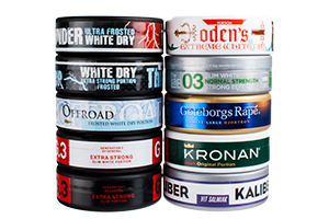 Mix - New Portion Snus 2015 - 10 Cans