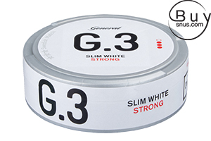 General G.3 - Slim White Strong