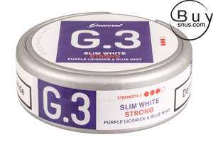General G.3 - Slim White Strong Licorice-Mint