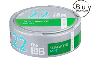 The LaB 22 Slim White Mint Xylitol