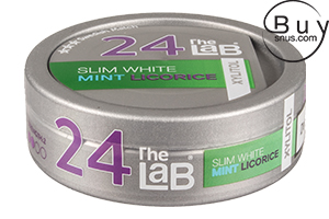 The LaB 24 Slim White Mint Licorice Xylitol
