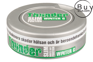 Thunder Slim White DRY Winter G