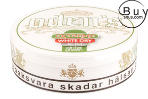 Odens Extreme Slim Wintergreen White Dry