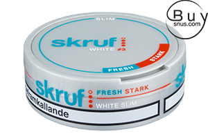 Skruf Slim Fresh White (Stark)
