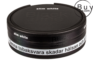 Black Line Slim White Portion (Extra Strong)