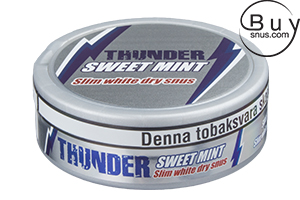 Thunder Sweet Mint Slim White Dry