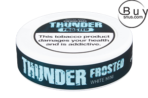 Thunder Mini Frosted White Chewing Bags