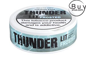 Thunder Ult Frosted White Dry Chewing Bags