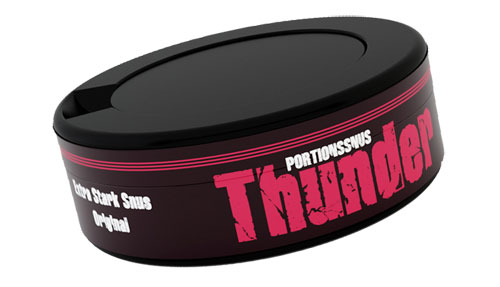 Thunder Extra Strong snus
